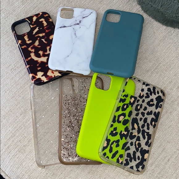 USED assorted iPhone 11 cases